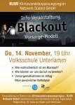 Info-Veranstaltung zum Thema Blackout