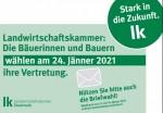 Landwirtschaftskammerwahlen am 24. Jänner 2021